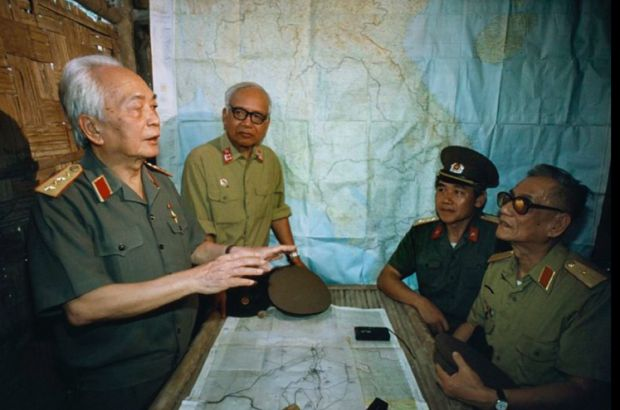 General Giap Returns to the Hut