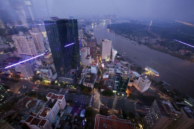 Ho Chi Minh City from Bitexco