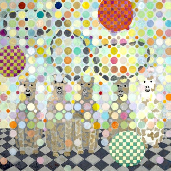 Dogs n' Dots : Maritta Nurmi from Art Vietnam Gallery