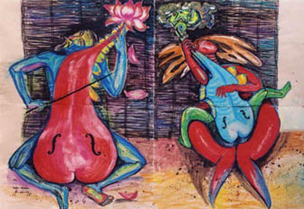 Lotus Violin